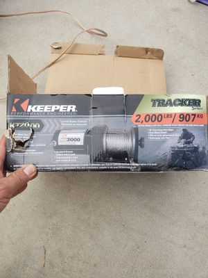 Electric winch 2000 lb for Sale in Corona, CA