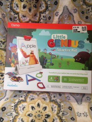 Osmo Little Genius Starter Kit For IPad for Sale in Chino, CA