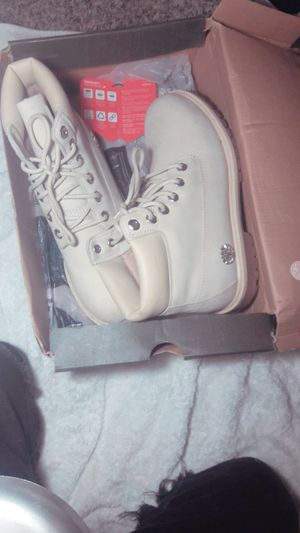 White/Beige Timberland Boots for Sale in Austell, GA