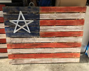 Rustic American Flag Decoration for Sale in West Melbourne, FL