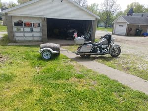 Burro trailer to pull behind motorcycle for Sale in Boonville, IN