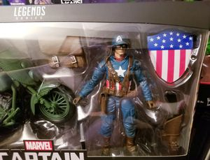 Marvel Legends 80th Anniversary Ultimate Captain America with Motorcycle fan Exclusive for Sale in Los Angeles, CA