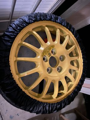 Spare tire from an rx8 5x114.3 bolt pattern for Sale in Orlando, FL