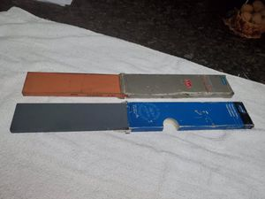 New sharpening stones butcher supples $15 ea for Sale in Victorville, CA