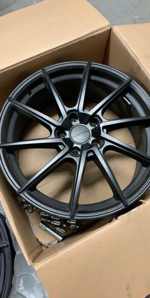 Black Matte rims like new! for Sale in Orlando, FL