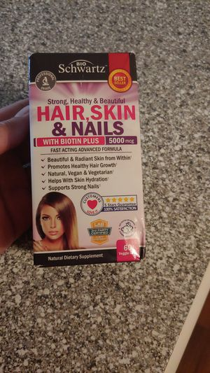 Hair skin and nails supplement for Sale in Plano, TX