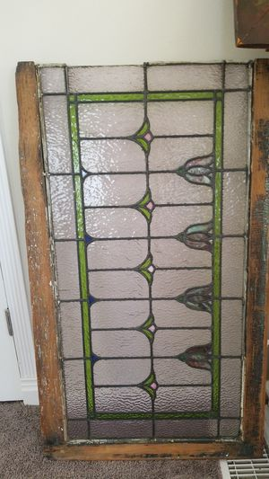 Antique stain glass for Sale in Eastlake, OH