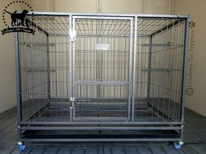 "NEW! 43"" Foldable Heavy-Duty Dog Cage (Kennel) (Crate) for Sale in Colton, CA"