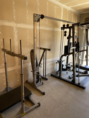 Home gym weights equipment for Sale in Yorba Linda, CA