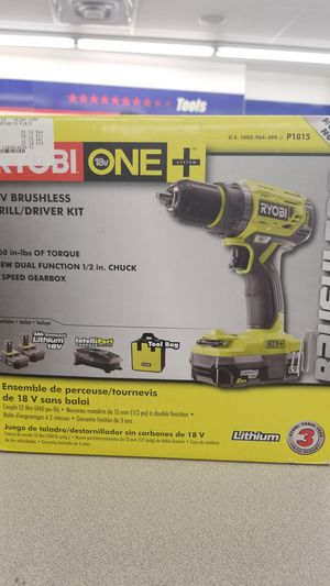 Kyobi brushless drill/driver set for Sale in Lewisville, TX