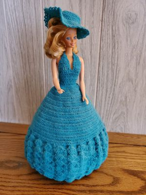 #4 Barbie in Beautiful Southern Style Crocheted Gown for Sale in Lacey, WA