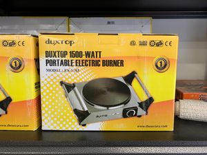 Portable electric burner 1500 W for Sale in Tumwater, WA