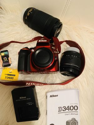 Nikon D3400 Digital Camera/Vídeo for Sale in Orange City, FL