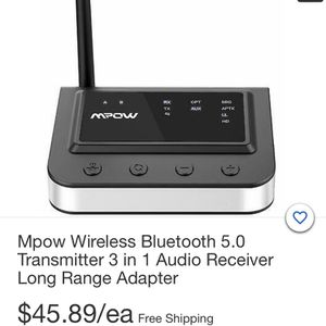 Mope Wireless Bluetooth 5.0 Transmitter 3in 1 for Sale in Chicago, IL