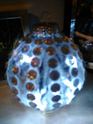 Lighted Christmas bulb for Sale in Groveport, OH