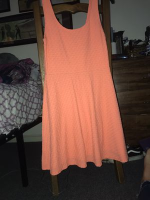 Pink/salmon dress for Sale in San Leandro, CA