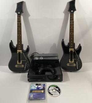 Xbox One 500gb w/New Kinect, 2 Wireless guitars w/Dongle +2 Games for Sale in Enumclaw, WA