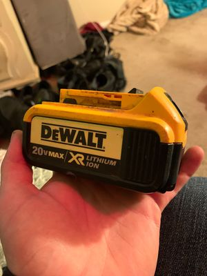 Dewalt 20vmax lithium ion battery for Sale in Bakersfield, CA