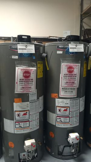 Rheem Performance Platinum Water Heater 40 and 50 gal for Sale in West Los Angeles, CA