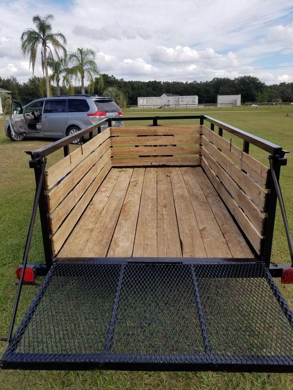 Utility trailer 5x10