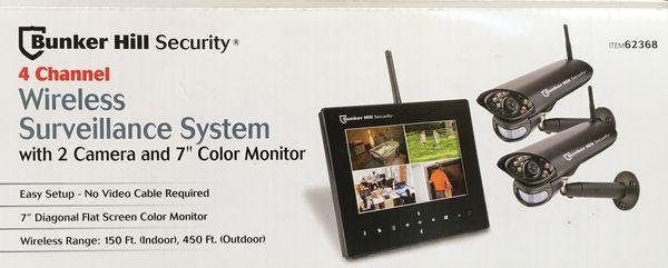 Bunker Hill Wireless Surveillance System for Sale in Hemet, CA - OfferUp