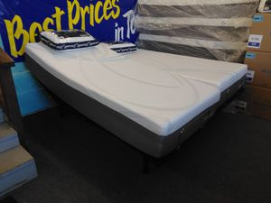 NEW Cheap Price Good Quality Split King Adjustable Base w/ 10 inch Cool Gel Memory Foam Mattress Only $1099 for Sale in Knoxville, TN