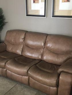 Leather Couch and Loveseat for Sale in Henderson,  NV