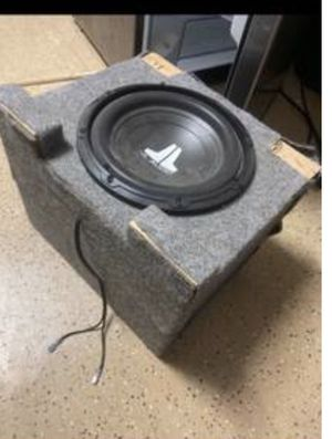 JL AUDIO 10 inch subwoofer for Sale in Goodyear, AZ