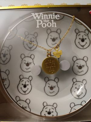 Disney necklace and trinket dish for Sale in Houston, TX