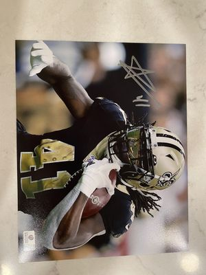 Alvin Kamara signed 8x10 with COA for Sale in Normal, IL