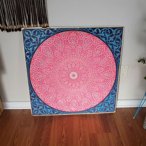 Vintage 1960s Cardboard Mandala for Sale in New London, CT