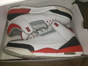 Size 10.5 Air Jordan Retro 3's for Sale in Manchester, CT
