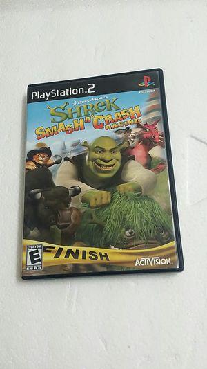 Shrek Smash n Crash Racing, PS2 for Sale in El Cajon, CA