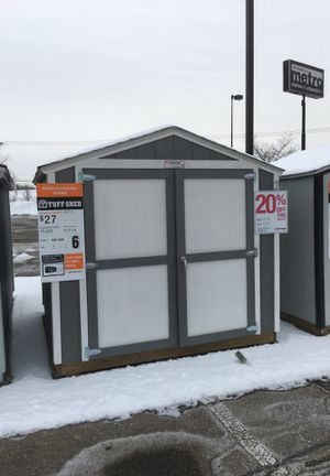 Tuff Shed KR-600 8' X 8' for Sale in Brownstown Charter Township, MI