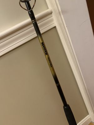 Master Fishing pole and reel for Sale in Shrewsbury, MA