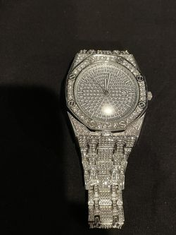 Iced Out Diamond Watch for Sale in Pasadena,  CA