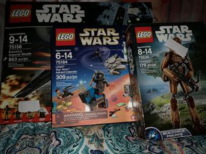 Star Wars Lego set *OPEN BOX* for Sale in Isola, MS