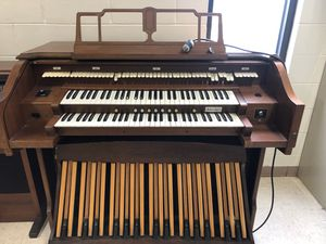 Free organ. It is extremely heavy. You must bring help to assist you with lifting it for Sale in Kissimmee, FL