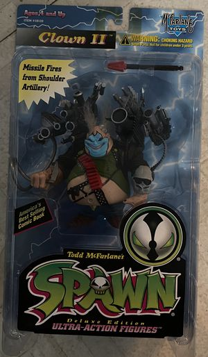 Todd McFarlane Spawn Series 4 Clown II Deluxe Ultra Action Figure 1996 NEW MOC for Sale in Santa Ana, CA