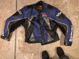 Suzuki GSXR MOTORCYCLE RIDING JACKET FULL ARMOR!!! for Sale in Chula Vista, CA