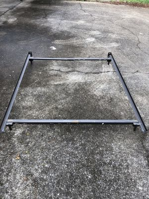 Adjustable Queen Full or twin metal bed frame for Sale in Nashville, TN