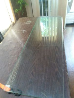 Glass panel. 14 inches x 50 inches. for Sale in Fort Washington, MD