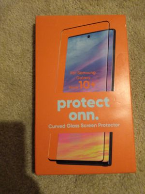 Curved glass screen protector for Sale in Lincoln, NE