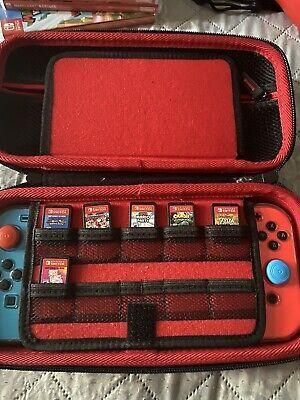 Nintendo Switch Bundle With Games Mario, Zelda, Just Dance Etc.. for Sale in Los Angeles, CA