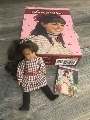 American Girl Samantha - 6 Books, 1 Mini-doll, and 1 Mini-book for Sale in Upland, CA
