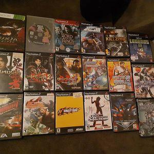 Playstation 2 games bundle for Sale in Riverside, CA