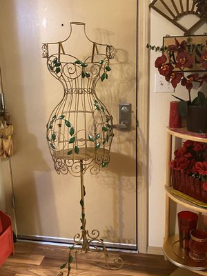 Metal birdcage mannequin for Sale in Federal Way, WA