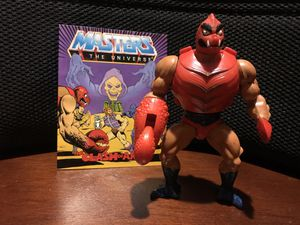 Vintage MOTU Clawful Action Figure with Comic for Sale in Arnold, MO
