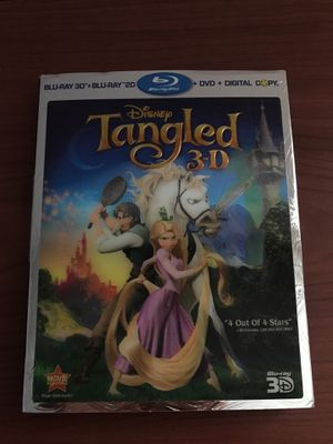Tangled blu ray for Sale in Tobyhanna, PA