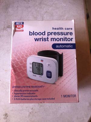 Rite Aid health care blood pressure wrist monitor for Sale in Escondido, CA